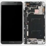 Экран касания OEM LCD для галактики Note3 серого LCD Samsung с рамкой