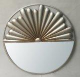 Espelho decorativo da suspensão de parede do projeto especial do metal da forma