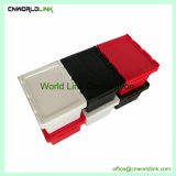 Embalagem de alta qualidade de plástico corrugado Engradado sólido de armazenamento de dados em movimento