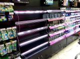 Cremalheira de indicador de aço laminada do supermercado da gôndola