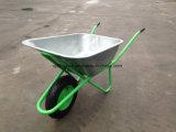 Riga della barra di rotella della carriola del mercato della Russia per la costruzione Wb6418 della costruzione del giardino