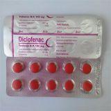 Hot Sale le diclofénac comprimés pharmaceutiques le diclofénac