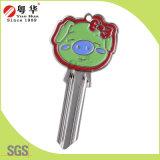 Tecla de artes de melhor qualidade ou pintadas de chave para a chave de cores em branco