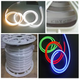 Top10 AC240V 50m/Roll SMD2835 LED 밧줄 빛 유연한 네온 지구