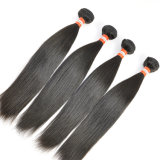 100% virgem reta de Seda Peruano Remy Extensões de cabelo humano