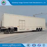 Heet Koolstofstaal 3 van de Verkoop De Bestelwagen van Assen Fuhua/BPW/de Semi Aanhangwagen van de Vrachtwagen van de Doos voor Vervoer van de Lading