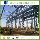Гальванизированный промышленный план строительства гаражей здания стальной рамки