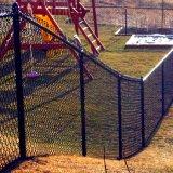Commerce de gros maillon de chaîne en acier galvanisé de Wire Mesh clôture/clôture de fil de chaîne