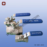스테인리스 2PC DIN3203 M3 공 벨브 1000wog