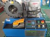 Обжимной хомут гидравлической системы при нажатии кнопки станка для шланга/трубы и трубки