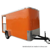 판매를 위한 주문을 받아서 만들어진 이동할 수 있는 간이 식품 트레일러 음식 손수레 트레일러
