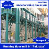 Planta quente do jogo completo de fábrica de moagem do trigo da venda 100t/24h