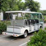 Un bus elettrico delle 14 sedi per le soste con il certificato del Ce (DN-14)