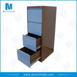 4 gavetas verticais de metal personalizada armário de arquivos