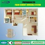 La costruzione modulare della struttura d'acciaio/mobile chiaro/prefabbricato/hanno prefabbricato la Camera vivente