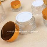 クリーム色の包装10g 20g 30g装飾的なガラスは表面クリームを震動させる