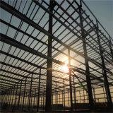 Structure légère en acier préfabriqués Pre-Fabricated/entrepôt pour but de la production industrielle