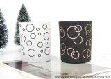 De gevoelige Kruik van de Kaars van het Glas van de Goede Kwaliteit van de Vorm voor Kerstmis viert
