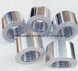 Cinta de aluminio 30mic conducto con una buena adhesión
