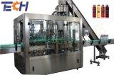 La Chine King constructeur de la machine automatique de la bouteille en verre de liquide de boire de l'équipement d'Embouteillage de boissons 3dans1 Machine de remplissage