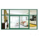 GroßhandelsFeelingtop kundenspezifisches schiebendes Aluminiumfenster mit Sicherheits-Hartglas (FT-W80/126)