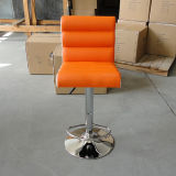 Sgabello di barra molle di cuoio dell'unità di elaborazione della mobilia comoda del salone (FS-B355)