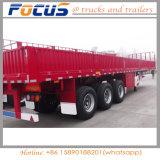 3 de Aanhangwagen van de Lading van het Stootkussen van assen voor het Vervoer van de Lading stortgoed