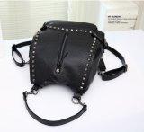 Dame Backpack und Handtasche, PU-Rucksack-Handtasche, Form-Rucksack
