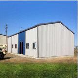 デッサンのための公認の産業プレハブの鉄骨フレームの構造の構築の倉庫