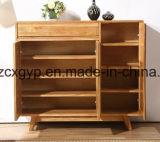 Gabinete de madeira Cx-Sc09 das sapatas da mobília Home moderna da sala de visitas
