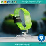 125 Wristband tissé par tissu réutilisable de kilohertz Em4200