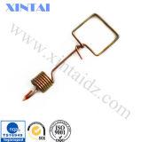 Toda la forma de cobre amarillo del alambre del clip del OEM de la dimensión de una variable
