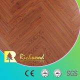 plancher en bois stratifié par stratifié V-Grooved de parquet de vinyle de 12.3mm HDF