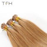 1g/Tfh Brasileño de hebra de cabello humano Remy extensiones de cabello de punta me Pre recta pegada en la queratina del cabello #27 cápsulas de marrón claro
