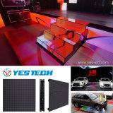 Azulejos interactivos populares de la demostración LED Dance Floor del partido del efecto