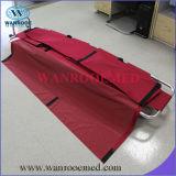 Civière mortuaire se pliante en aluminium du sac mortuaire Ea-1A5 avec des roues