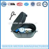 El agua de plástico medidor de flujo caja de medidores de agua (Dn15-20mm)