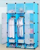 거실 옷장 내각 판매, 옷 걸이 폴란드 의 싼 접히는 PP 위원회 DIY 침실 옷장 (EP-01)를 가진 플라스틱 옷장