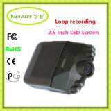 DVR de grabación de bucle visión nocturna de 2.5 pulgadas del vehículo