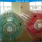 Bola de Zorb del rodillo del agua que recorre inflable colorida para los juegos del agua
