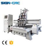 Processamento de madeira Multi-Functions pneumática Máquina Router CNC