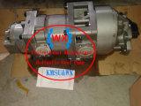Excavadora Komatsu Bomba hidráulica de engranajes triple: 705-58-34000. (PC100-2. PC100-1). Bomba de aceite hidráulico) Piezas