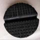 Blocchetto del rilievo di gomma della sella con la piccola scanalatura per il carrello dell'automobile