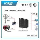 Grande UPS em linha de baixa frequência 100kVA compatível com gerador