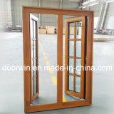 Barato preço fixo acabados janelas de madeira a grelha do painel de vidro Design Windiw a partir da fábrica