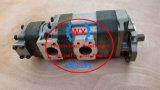 Bomba 44083-60750 triplicar-se da bomba de engrenagem de Kawasaki para o carregador 90ziv-2