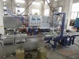 Automatischer wiegender Typ Flüssigkeit füllende und mit einer Kappe bedeckende Maschine für Lack, Beschichtung, Kleber, Tinte, Chemikalie