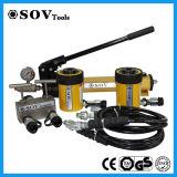 100ton SOVの単動空のプランジャジャック(SOV-RCH)