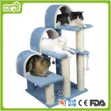 Lügen-Platz-Katze-Baum der Qualitäts-neuer Auslegung-drei