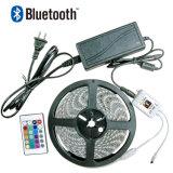 5050/3528 Streifen Smartphone esteuerter LED RGB-WiFi/Bluetooth Streifen-Licht-Installationssatz